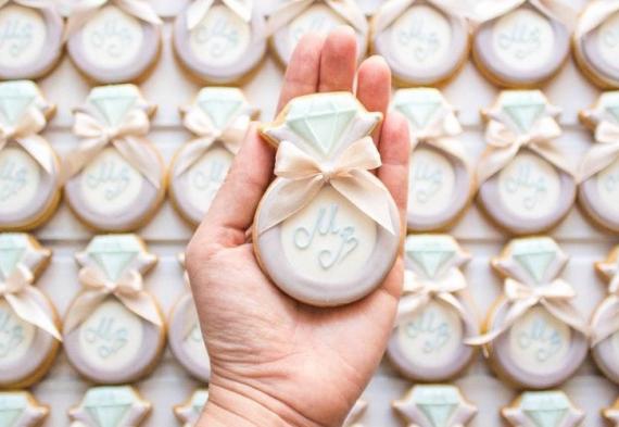 пряник кольцо на свадьбу