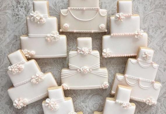 пряник торт на свадьбу