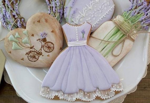 пряник платье на свадьбу 2