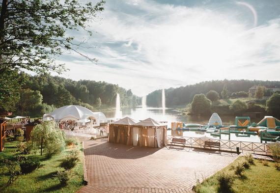 Загородная свадьба Подмосковье