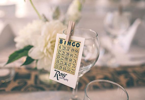 бинго на свадьбе