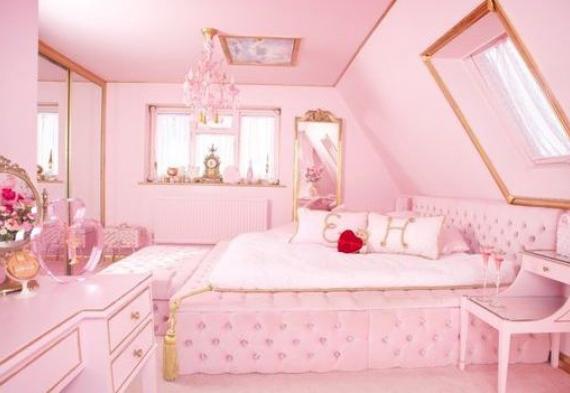 дизайн квартиры для девичника в стиле барби 2