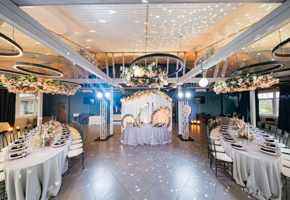 Панорамный ресторан для свадьбы в Подмосковье