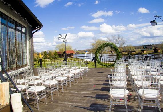 Панорамный ресторан для свадьбы, выездная регистрация