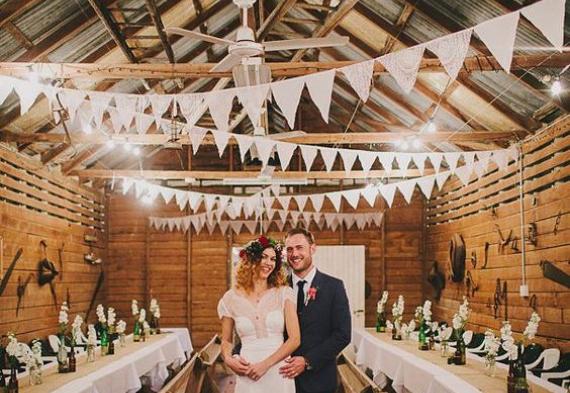 флажки на свадьбу