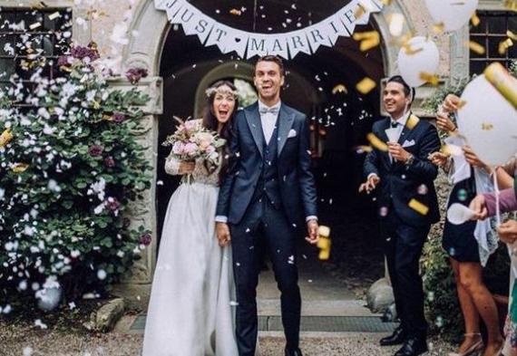 конфетти на свадьбу