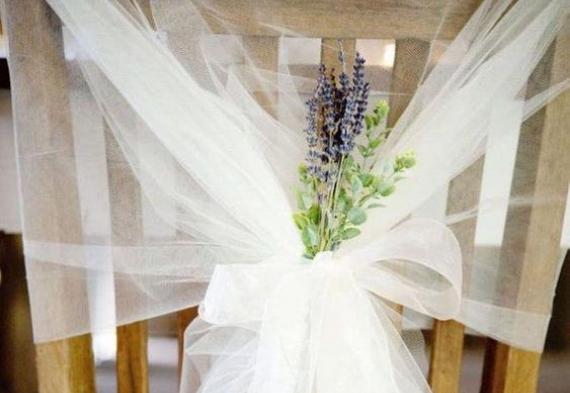 лаванда для декора свадьбы