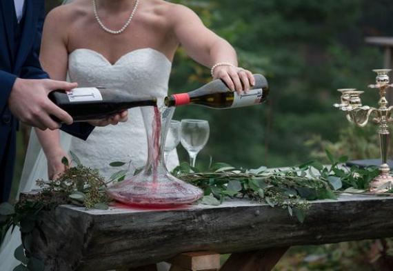 объединение вин молодожены