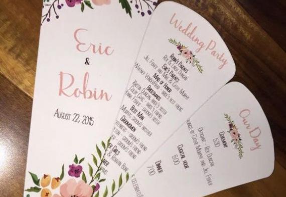 программа дня на свадьбу