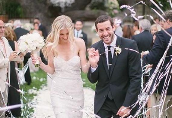 серпантин для свадебной церемонии