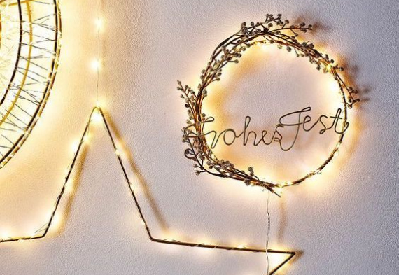 светодиодные гирлянды для свадьбы