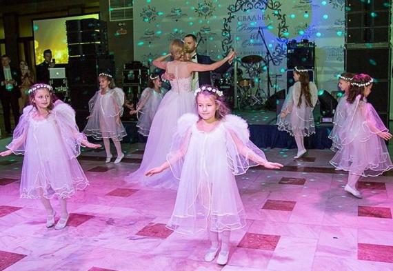 танец ангелочков