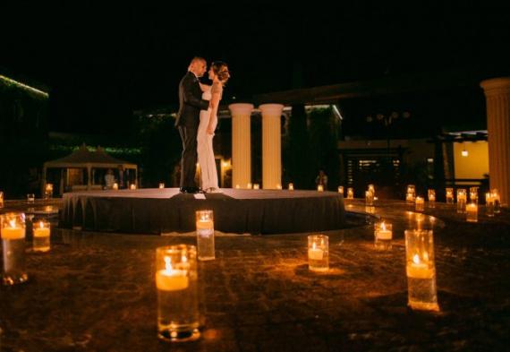 свадебный танец в огне