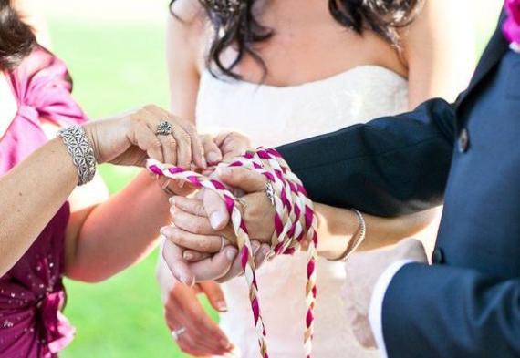 свадебная церемония тайный узел