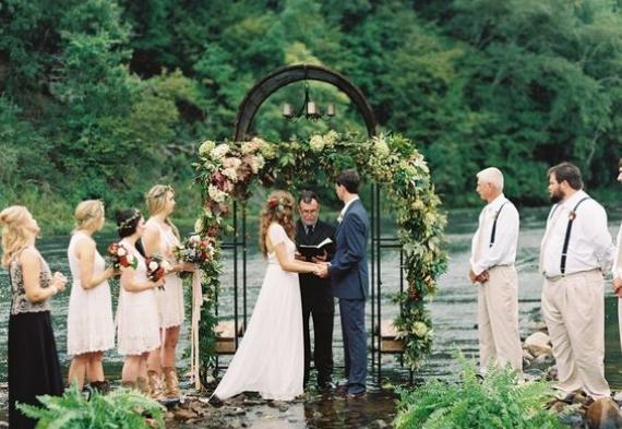 Выездная регистрация (жених, невеста и друзья)