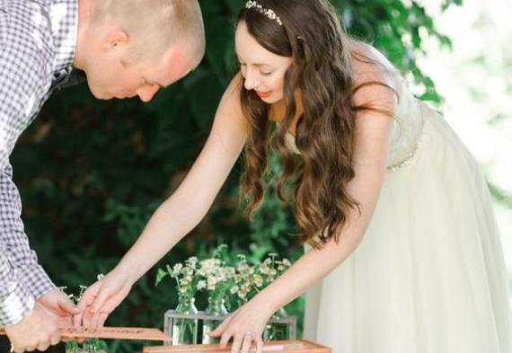 выдержка вина свадебная церемония