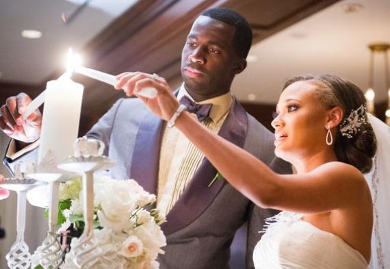 зажжение свечей на свадьбе