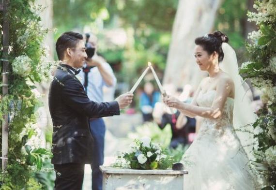 зажжение свечей свадебная церемония