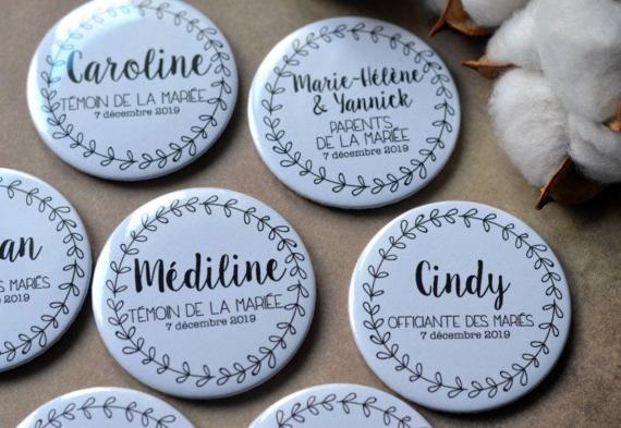 значки на свадьбу