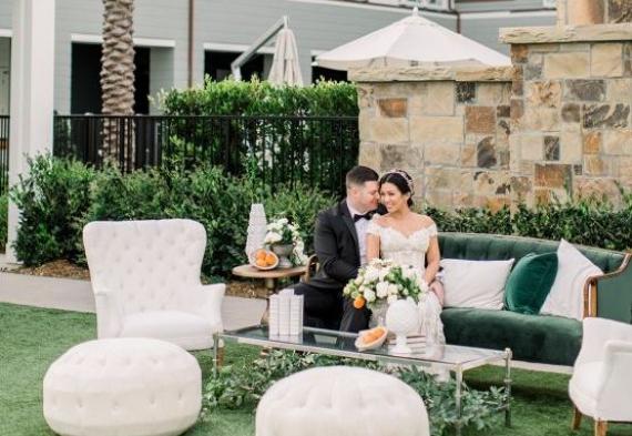зона отдыха на свадьбе