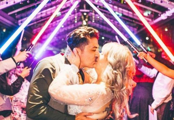 свадьба в стиле звездные войны