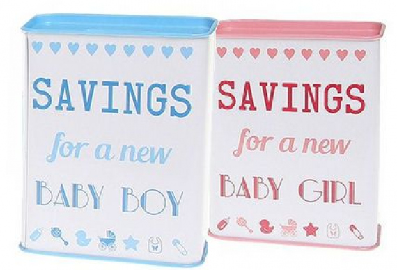 Свадебные копилки для мальчика и для девочки