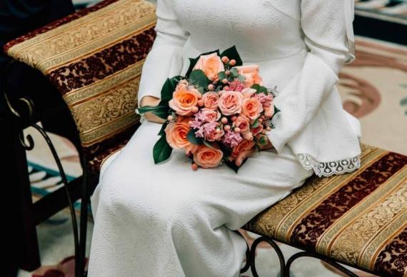 мусульманская свадьба букет невесты