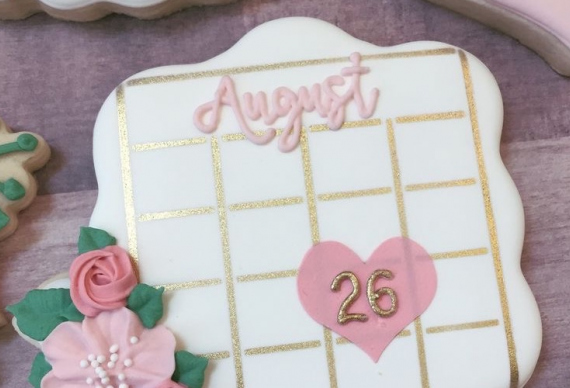 пряник календарь на свадьбу 5