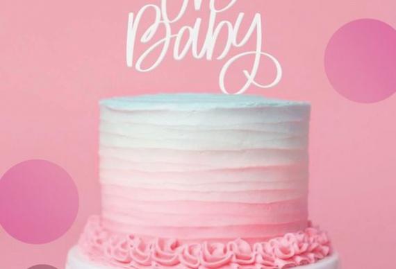 Торт-угадайка пола на свадьбу