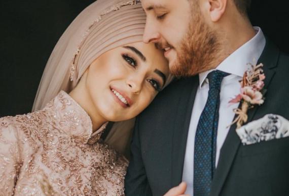 мусульманская свадьба молодожены