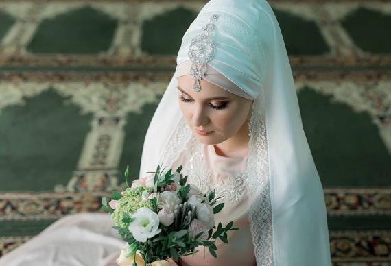 мусульманский наряд невесты