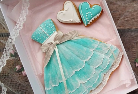 пряник платье на свадьбу 3