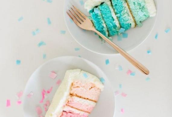 """Торт """"мальчик"""" и торт """"девочка"""""""