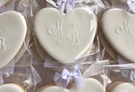 пряник в виде сердца на свадьбу 4