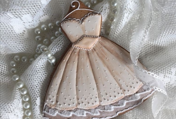 пряник платье на свадьбу 4