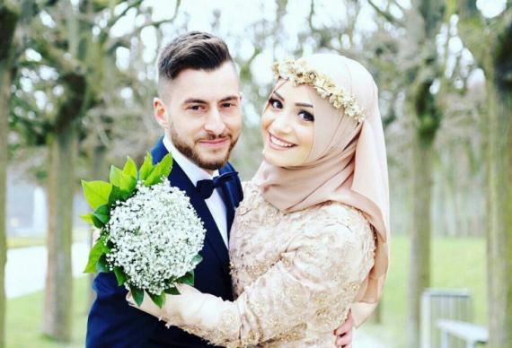 наряд для мусульманской свадьбы