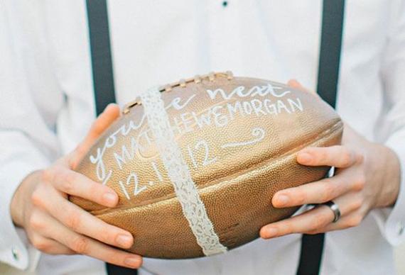 бросить мяч на свадебном торжестве