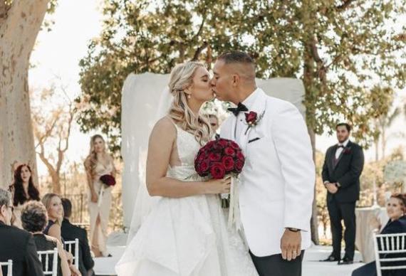 свадебная церемония роз