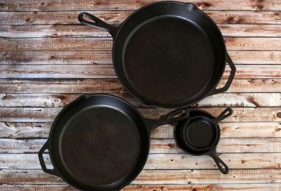 чугунные сковородки