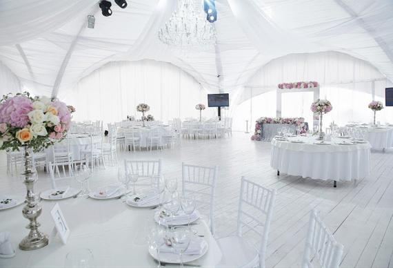 Аренда шатров на свадьбу
