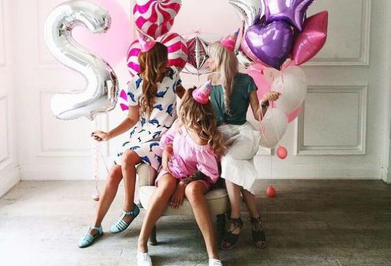воздушные шары для девичника