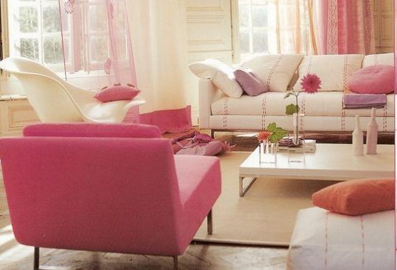 дизайн квартиры для девичника в стиле барби 3