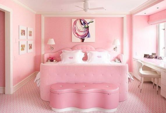 дизайн квартиры для девичника в стиле барби 5