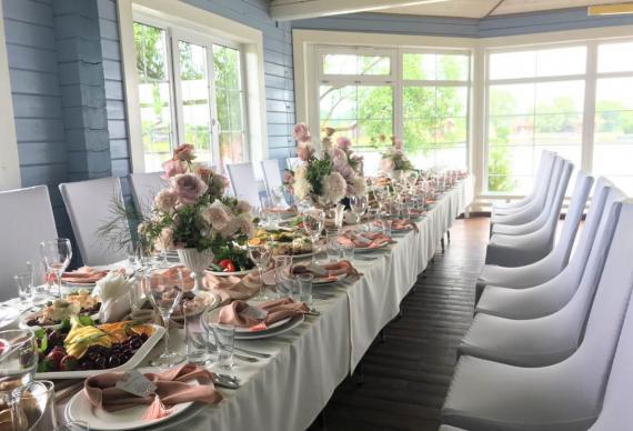 Панорамный зал на свадьбу
