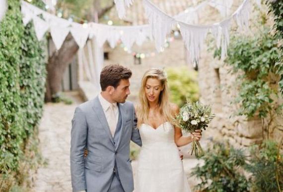 флажки свадьба