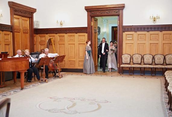 Грибоедовский дворец бракосочетания в Москве
