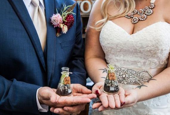 свадебная химическая церемония