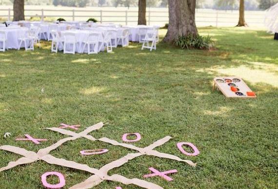 свадебные развлечения на природе