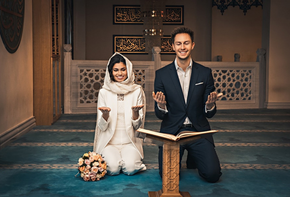 никах мусульманская пара