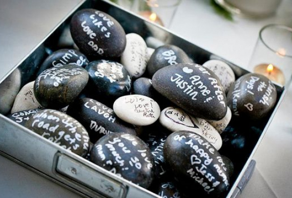 каменная церемония украшения